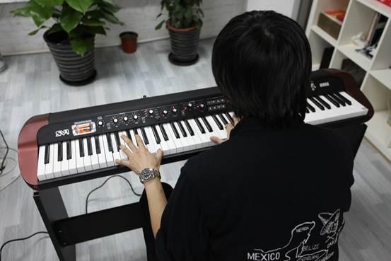 korg sv1 电钢琴——张亚东的挚爱图片