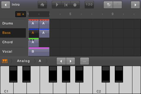 ios 是一个音乐制作和录音应用