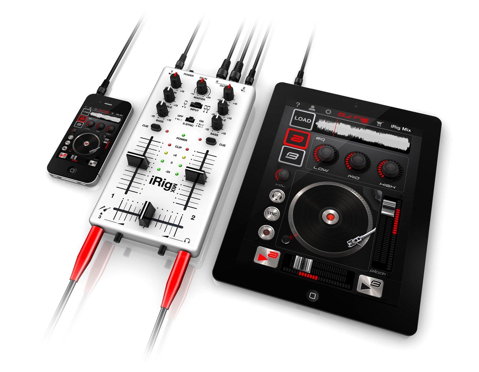 视频 ipad/IK多媒体自豪的向大家介绍我们2012年1月首发的新品iRigMIX...