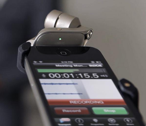 Rode 发布用于 iPhone 和 iPad 的 iXY 话筒 - 李V - 五四音频(54cctv.com)
