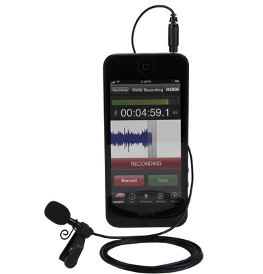 Rode 发布 iOS 设备专用 smartLav 领夹麦克风 - 李V - 五四音频(54cctv.com)