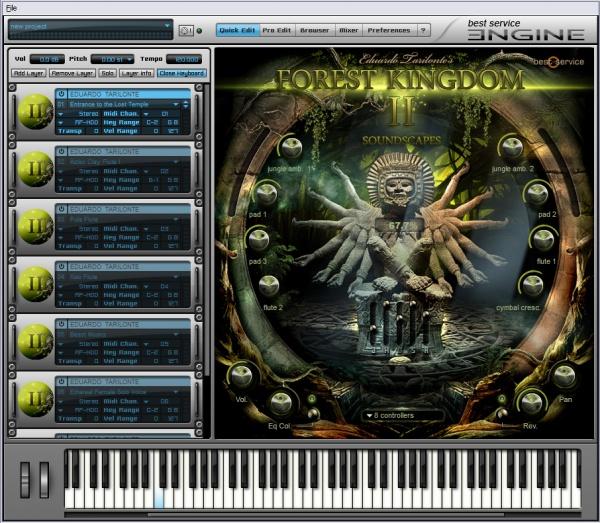 森林王国 ii 音色免费试用版上线图片