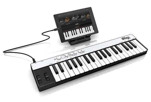 IK 推出 iRig Keys 键盘兼容 iOS Lightning 接口的连线 - 李V - 五四音频(54cctv.com)