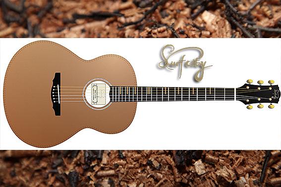 surfcity原声吉他使用了优质的木材和先进的制作工艺