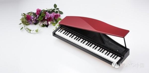 随时随地都能演奏的三角电钢琴——korg