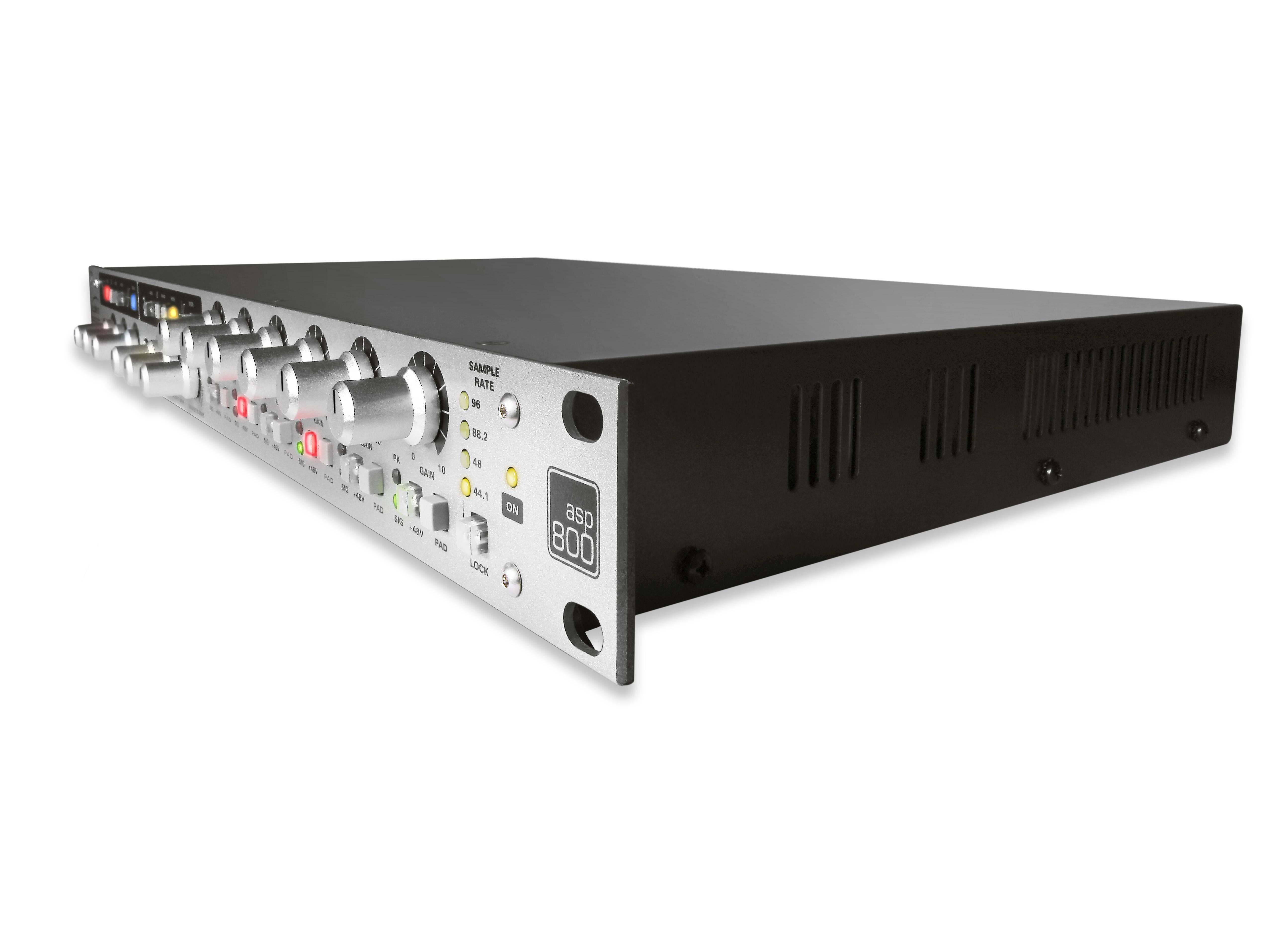 发布八通道话筒前置放大器兼模拟数字转换器