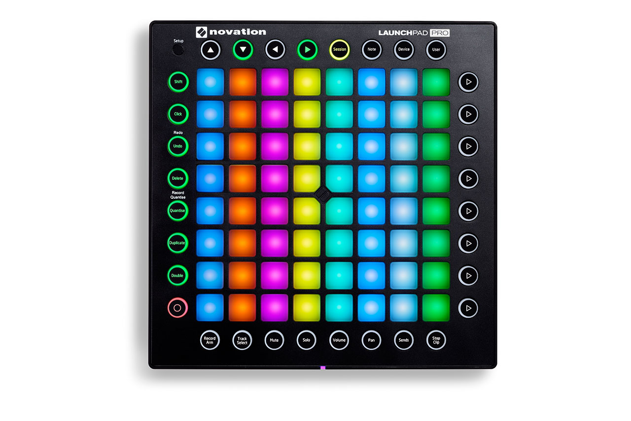 novation launchpad pro 打击垫跟 launchpad mkii