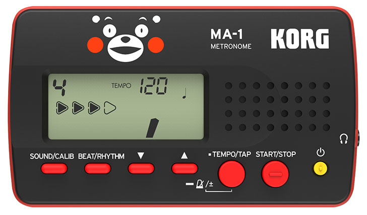 Korg宣布将在下个月推出熊本熊涂装的tinyPIANO钢琴、GA-1调音表和MA-1节拍器,其中销售收入的一部分将捐给熊本地震灾区重建。  Roland已经为熊本地震捐款了(嘛,虽然只有100万日元吧),Korg怎么能闲着?他们宣布推出熊本城市最可爱最会卖萌的熊本熊涂装的三样设备,萌翻你。