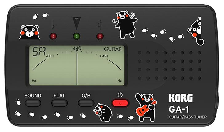 korg调音器的使用方法图解