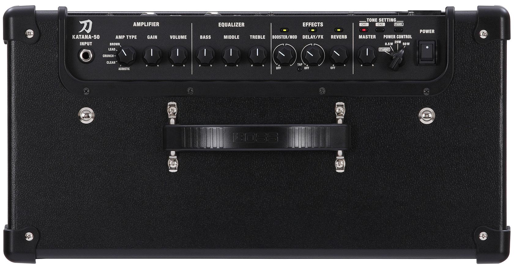 boss 发布 katana-50 吉他音箱