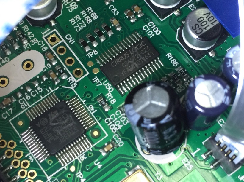 图21:电路板做工还是挺规矩的