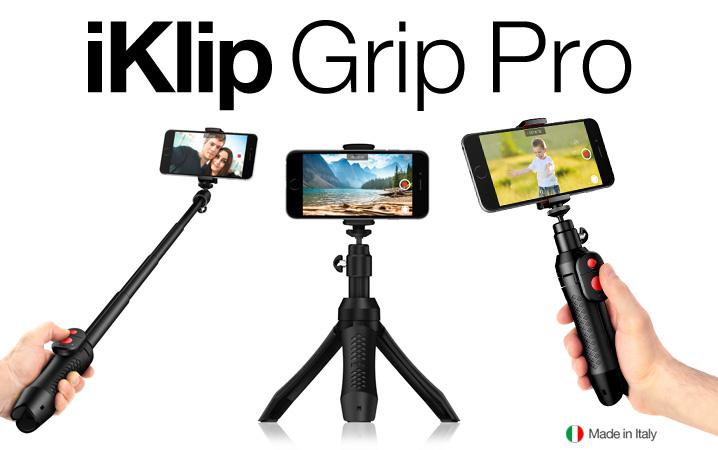 pro,专业的四合一三脚架和手持支架,让你方便搭配iphone和小型相机