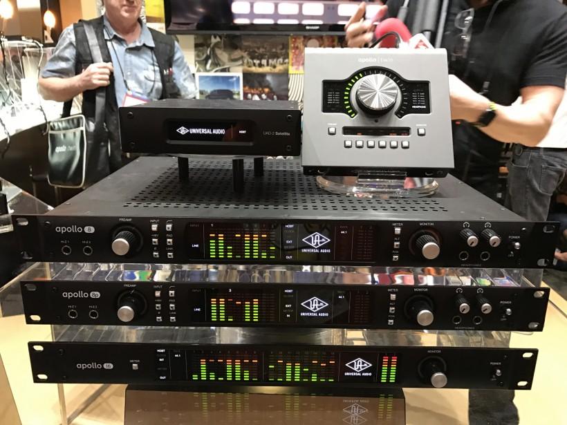 NAMM 2017 展会:Universal Audio Apollo Twin MkII 『为录音而生』的音频接口第一