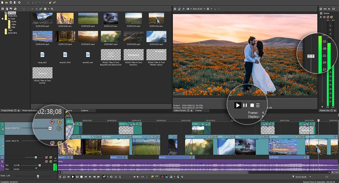 視頻剪輯 Vegas Pro v17.0.0.387 破解一鍵安裝版