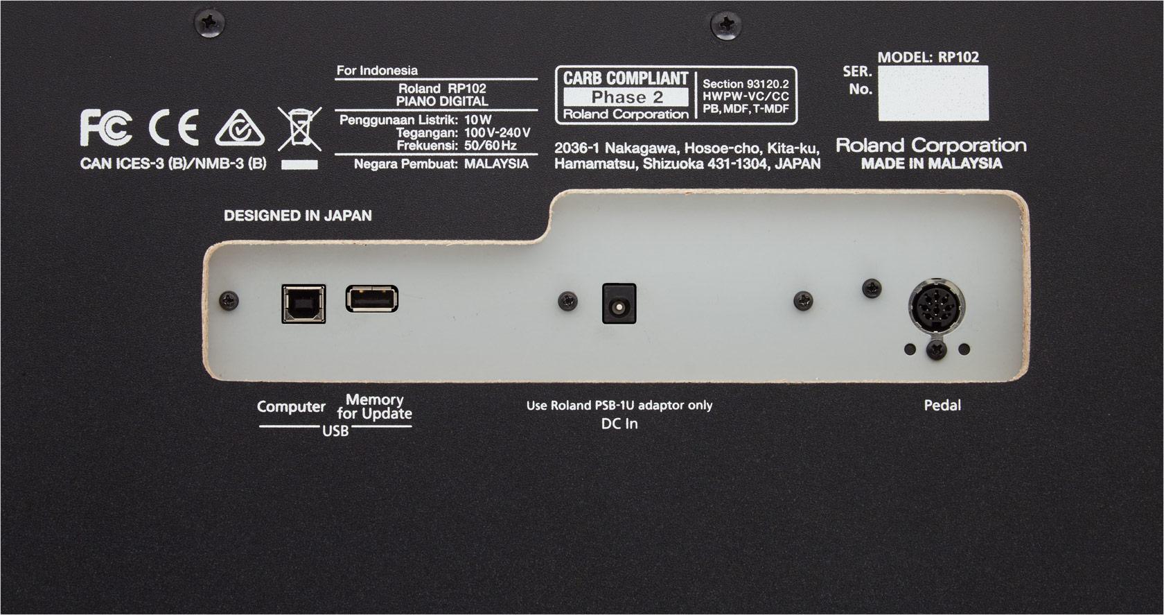 Roland - RP102