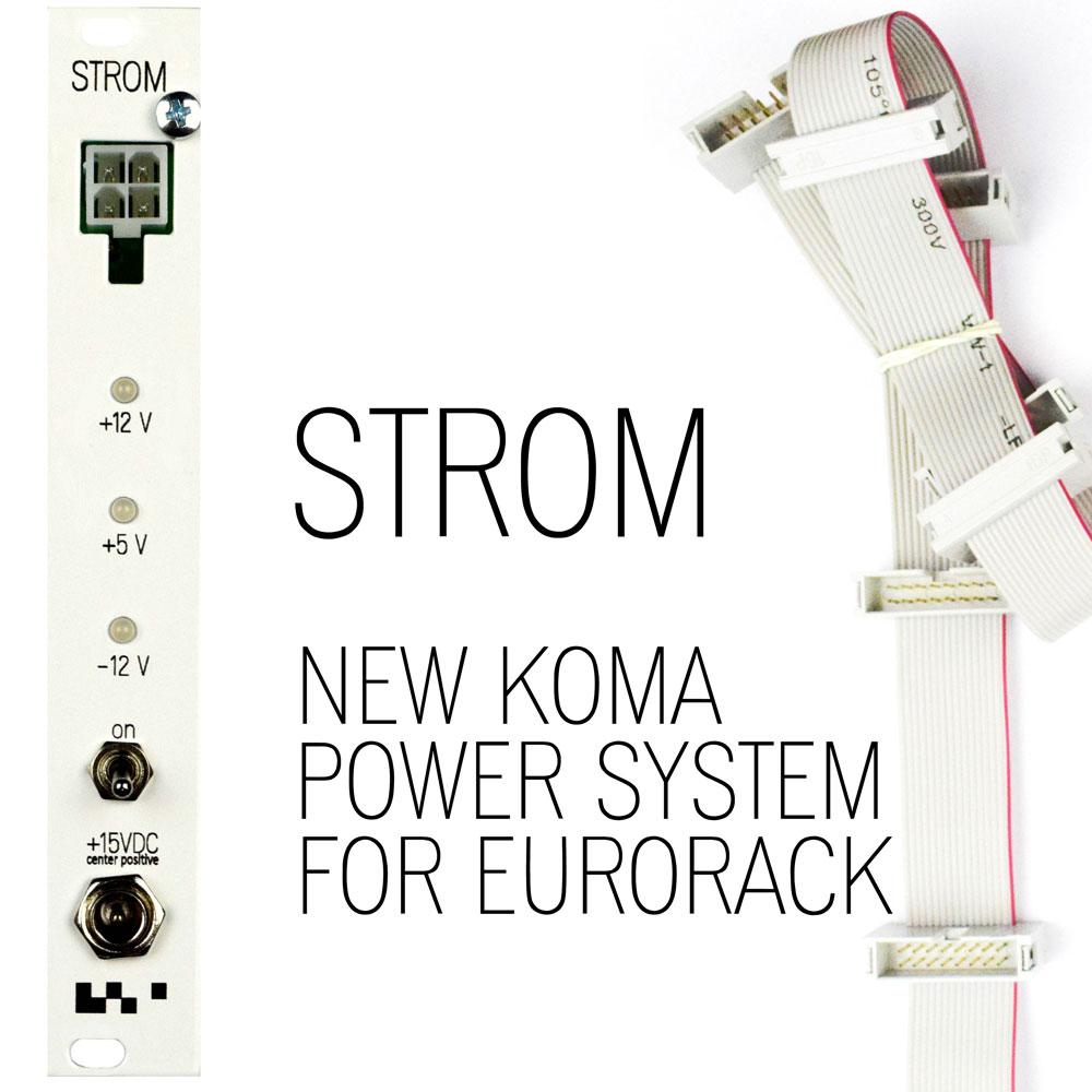 Koma Elektronik - KOMA STROM / PASSIVE / BUSBOARD