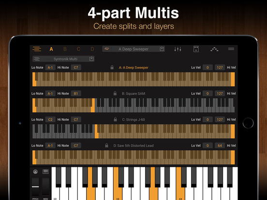 IK Multimedia - Syntronik for iPad