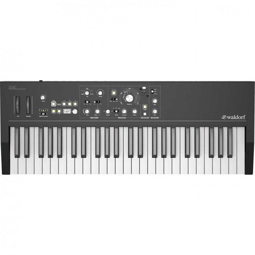Waldorf 终于宣布 STVC 声码器 + 弦乐合成器键盘上市