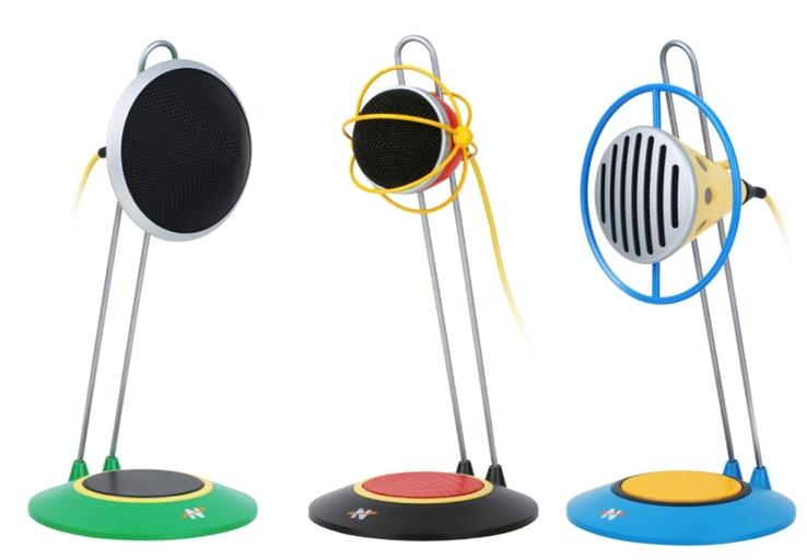 这是三个装饰品吗?不!这是三个 USB 话筒―― 来自 NEAT 的 Widget 系列