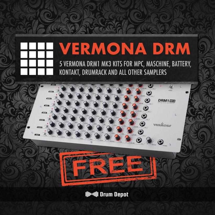 来自 Drum Depot 的独特鼓音色包:Tube Drums 和免费的 Vermona DRM1 福利