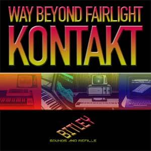 bitley 发布 Way Beyond Fairlight Kontakt 音源,集合 80 年代硬件之声