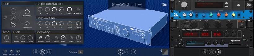 UVI 发布 Key Suite Digital 经典数字键盘音源