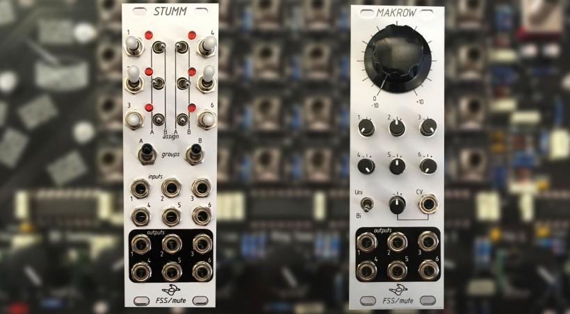 Future Sound Systems 和 Mute 合作了两个新的 Eurorack 模块