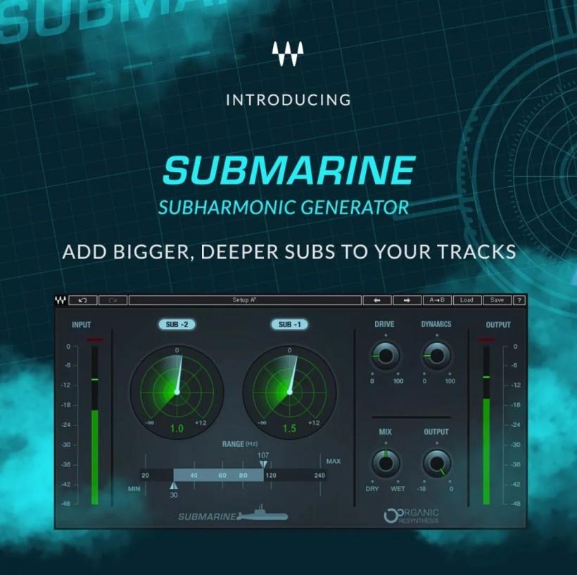你还可以更 LOW 一点?Waves Submarine「潜水艇」插件发布