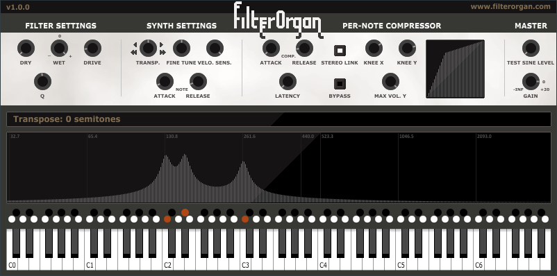 福利:支持 Linux / macOS / Win 三系统的免费风琴插件 FilterOrgan
