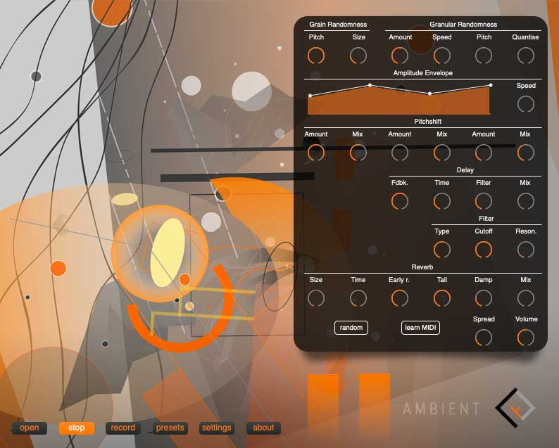 Audiobulb 发布 AMBIENT-v4 粒子效果器