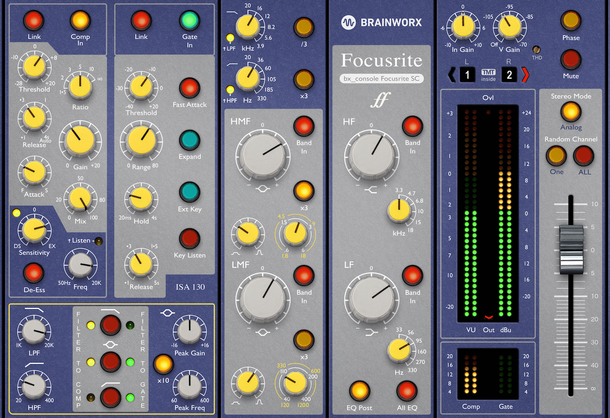 Brainworx - bx_console Focusrite SC