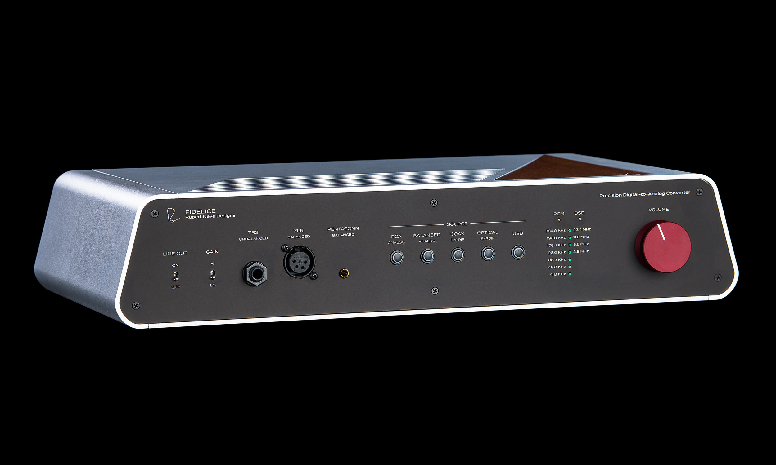 Fidelice by Rupert Neve Designs - Precision Digital-to-Analo