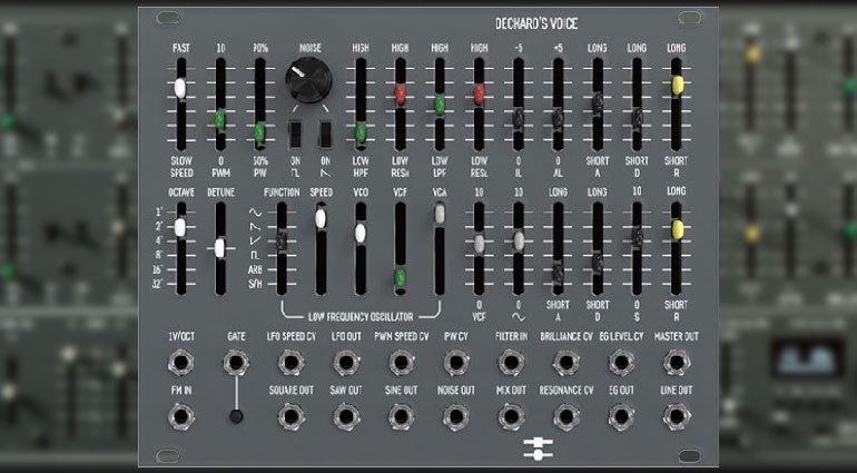 Black Corporation 又发大招!Yamaha CS-80 Eurorack 复刻模块 Deckards V