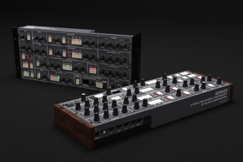 Black Corporation 从 Elka Synthex 获得灵感的 Xerxes 合成器开始预购