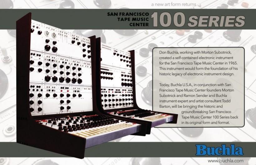 而1963年Don Buchla则开始专门为旧金山磁带音乐中心创造出了自己的第一个模块合成器