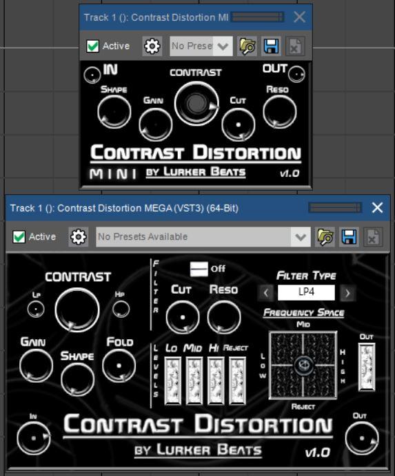 福利:免费的失真效果器插件套装 Contrast Distortion 下载