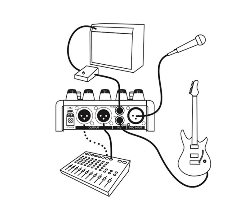 TC-Helicon - VoiceTone Harmony-G XT