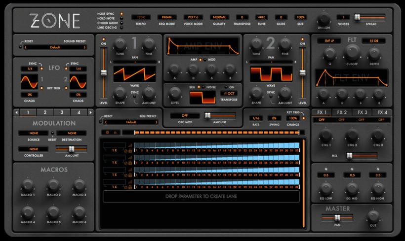 Audiaire 发布强大灵活的 MIDI 控制器 / 音序器插件 Zenith
