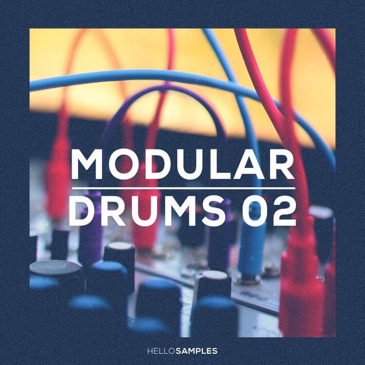 HelloSamples 发布探索模块鼓声音设计极限的 Modular Drums 2 采样包