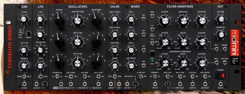 Studio Electronics 发布 Minimoog 复刻回归之作 Midimini V30 半模块化合成器