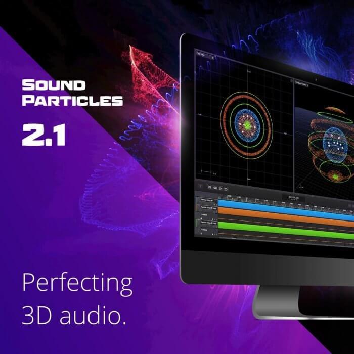 Sound Particles 沉浸式 3D 音频软件更新到 v2.1,支持批处理和轨道预设