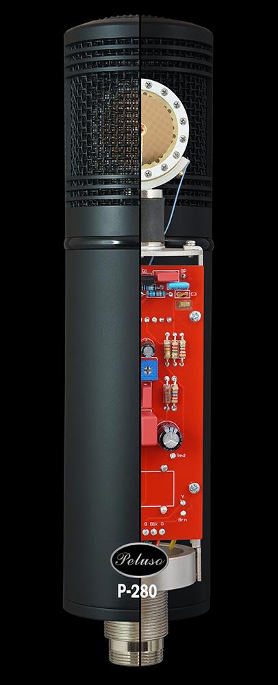 Peluso 发布 P-280 多指向性电子管/晶体管组合话筒