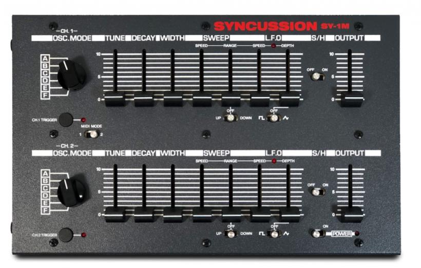 Psycox 再版可 DIY 的经典鼓机复刻套件 Syncussion SY-1M