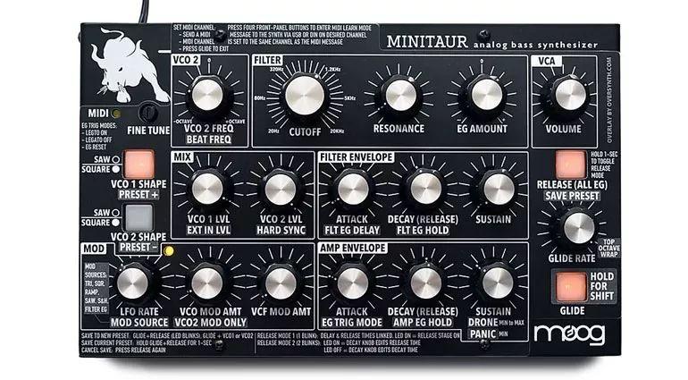 第三方 Oversynth 公司让 MOOG Minitaur 和 Sirin 有小清新「新装」气息