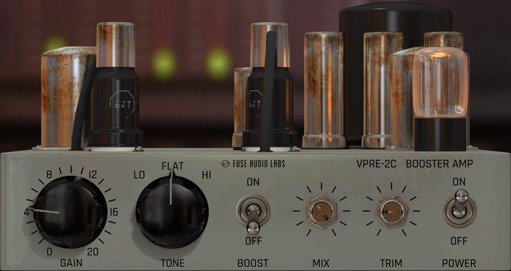 Fuse Audio Labs 发布 VPRE-2C 电子管放大器插件,重塑电子管风味