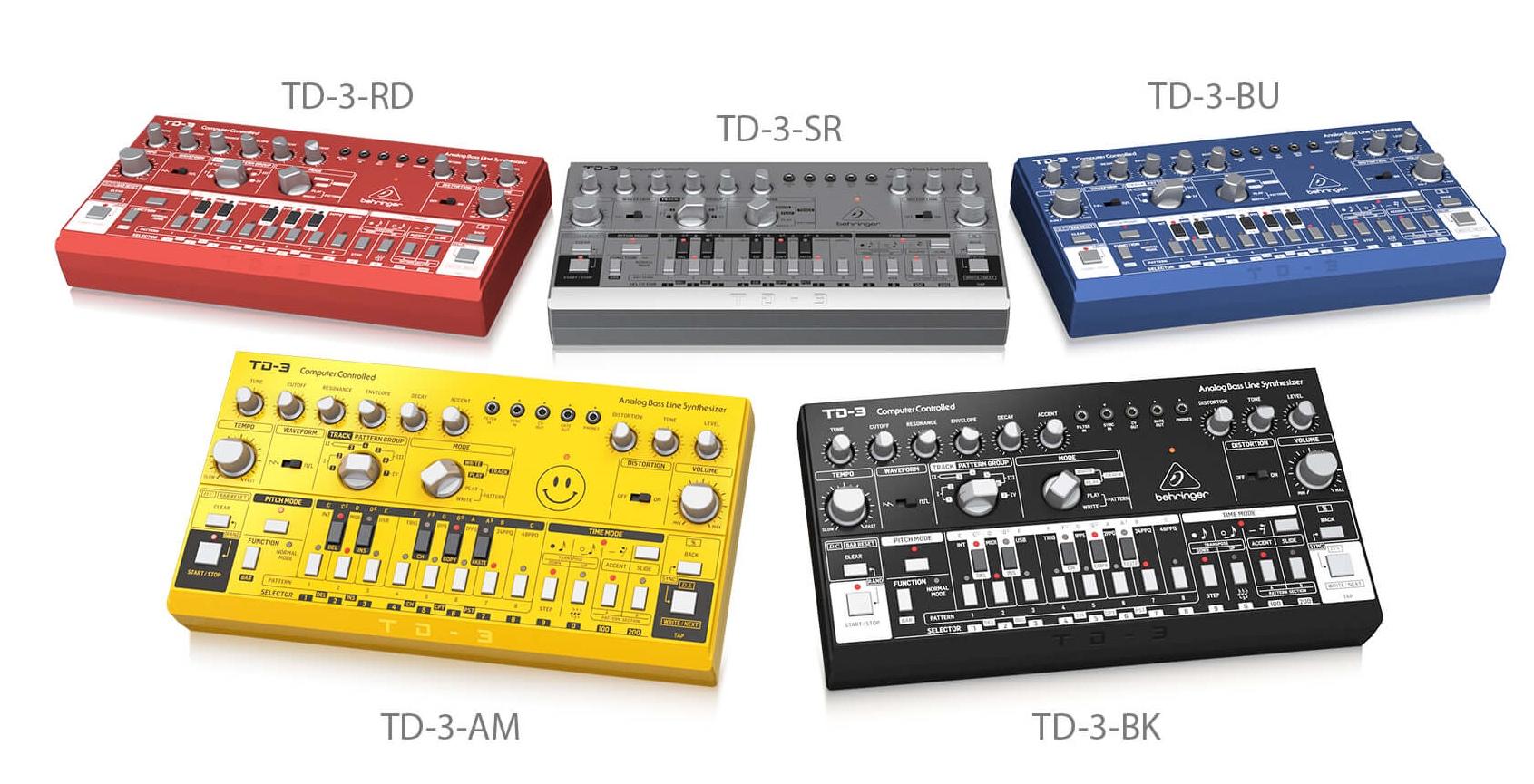 Behringer - TD-3 / TD-3-BU / TD-3-RD / TD-3-SR / TD-3-AM / T