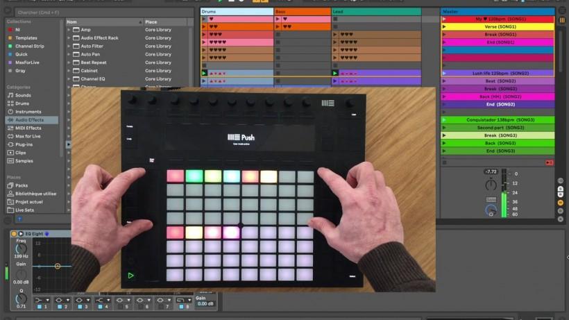 KB Live Solutions 为 Ableton Live 推出 Song:Mode 脚本,优化 Push 和 L