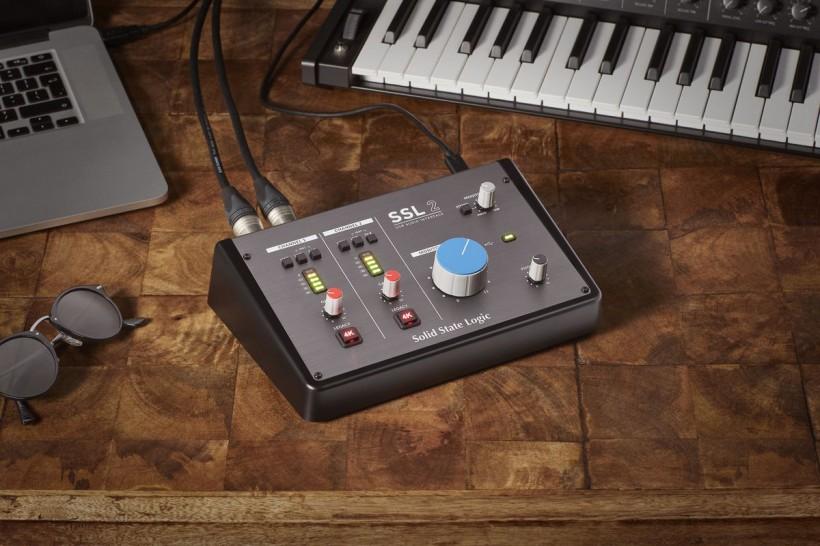 Solid State Logic 将卓越音频科技带给个人音乐人
