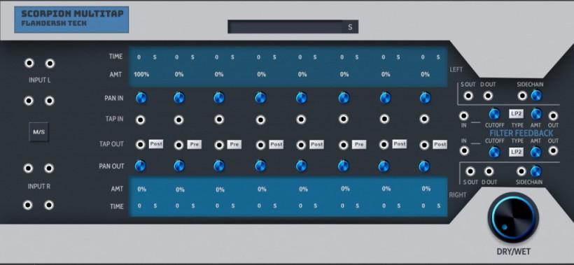 福利:Scorpion Multitap 免费多头延迟插件发布