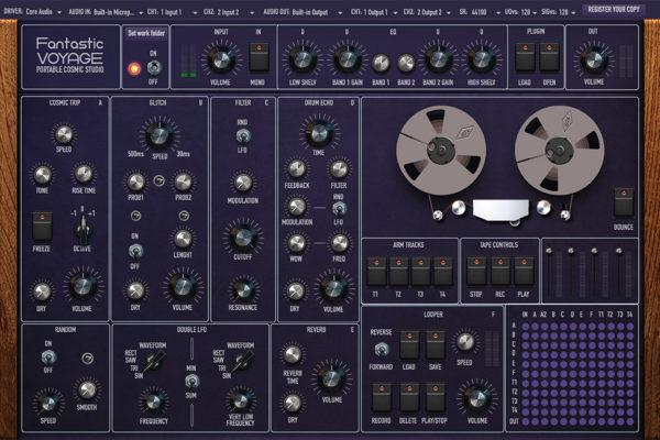 仿老式磁带录音机的工作站软件 Fantastic Voyage 发布